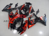 Suzuki GSXR750 (2006-2007) Black & Orange Fairings