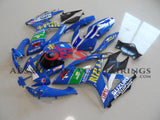 Suzuki GSXR600 (2006-2007) Blue Rizla Fairings