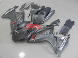 Suzuki GSXR600 (2006-2007) Silver Race Fairings