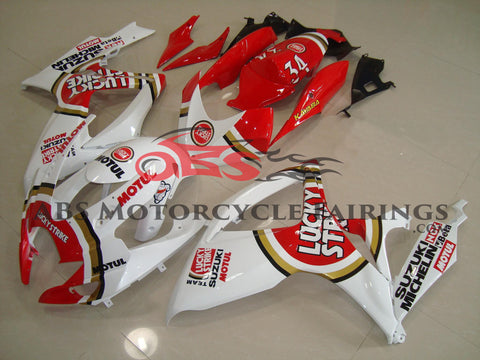 Lucky Strike Red 2006-2007 Suzuki GSXR600