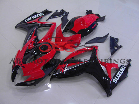 Red & Black 2006-2007 Suzuki GSXR600