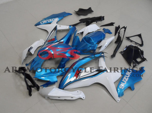 Original Light Blue 2008-2010 Suzuki GSXR750