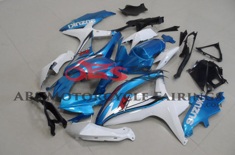 Original Light Blue 2008-2010 Suzuki GSXR600