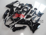 All Black Fairing Kit for a 2011, 2012, 2013, 2014, 2015, 2016, 2017, 2018, 2019 & 2020 Suzuki GSX-R750 motorcycle