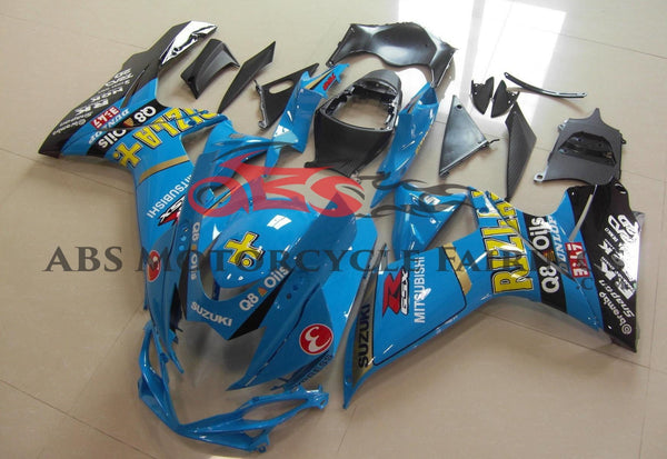 Blue Rizla Fairing Kit for a 2011, 2012, 2013, 2014, 2015, 2016, 2017, 2018, 2019 & 2020 Suzuki GSX-R600 motorcycle