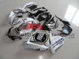 Suzuki GSXR750 (2011-2020) White & Black Lucky Strike Fairings