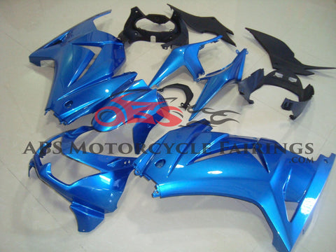 Kawasaki Ninja 250R (2008-2013) Blue Fairings