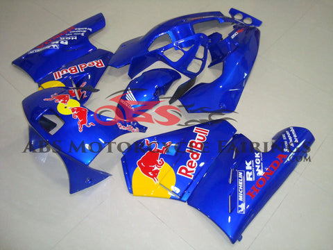 Red Bull Blue 1989 Honda NSR250R MC18