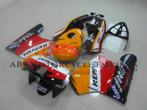 Repsol HRC Yellow & Red 1989 Honda NSR250R MC18