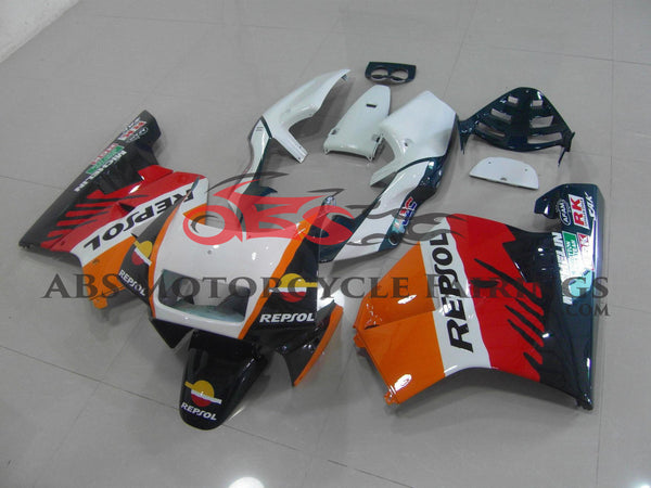 Repsol HRC Orange & White 1990-1993 Honda NSR250R MC21