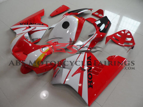 Red & White with Tank Cover 1990-1993 Honda NSR250R MC21