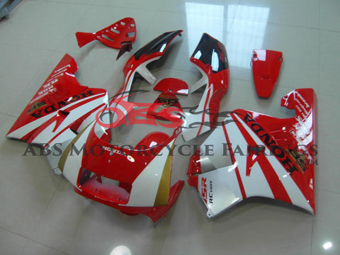 SP White & Red 1990-1993 Honda NSR250R MC21