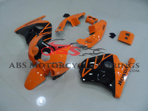 Orange & Black with Seat Cowl Honda MC22