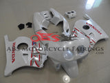 Pearl White & Red Decals Honda MC22