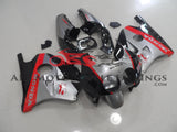 Silver Black & Red Honda MC22