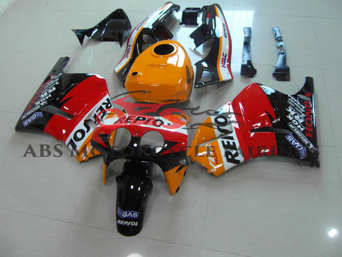 Repsol HRC Orange & Black 1989 Honda VFR400R NC30