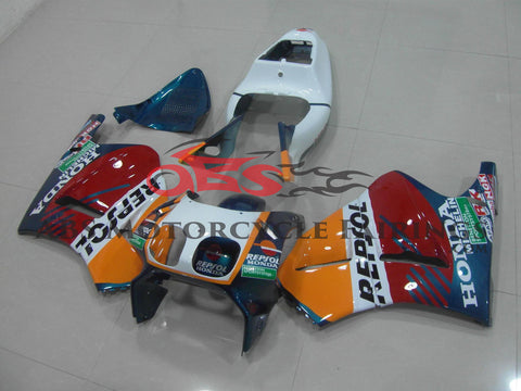Repsol Yellow White & Red 1994 Honda RVF400R NC35