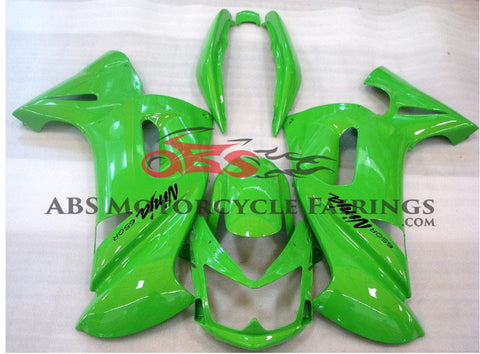 All Green Fairing Kit for 2006-2008 Kawasaki ER6F
