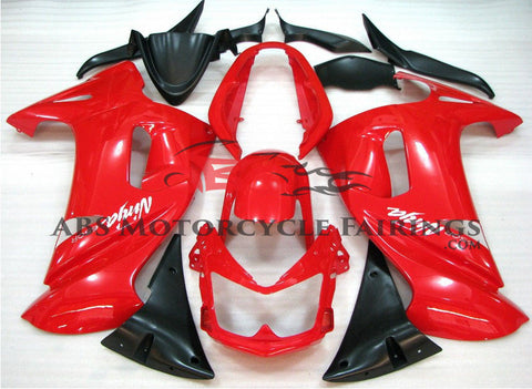 All Red Fairing Kit for 2006-2008 Kawasaki ER6F