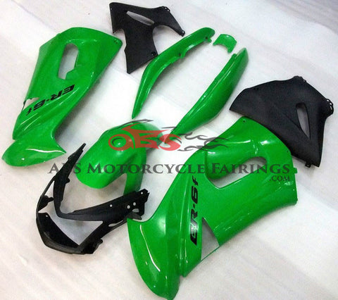 Green & Black 2006-2008 Kawasaki ER6F