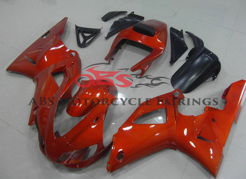 Yamaha YZF-R1 (1998-1999) Dark Orange Fairings