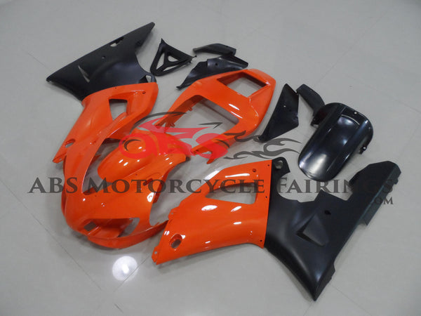Orange & Matte Black 1998-1999 Yamaha YZF-R1