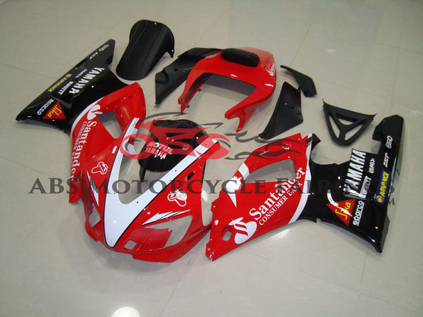 Santander Red & Black 1998-1999 Yamaha YZF-R1
