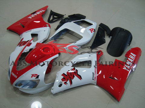 Yamaha YZF-R1 (1998-1999) White & Red Exup DeltaBox Fairings