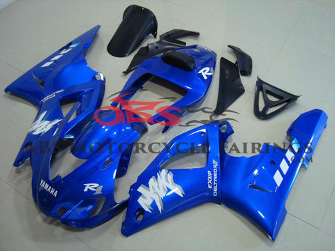 Yamaha YZF-R1 (1998-1999) Blue Exup DeltaBox Fairings
