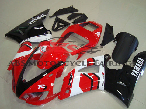 Yamaha YZF-R1 (1998-1999) Red, Black & White Fairings