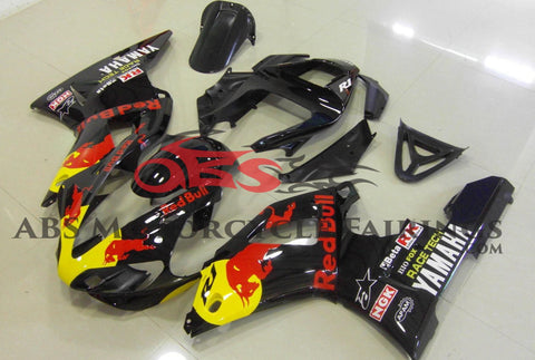Red Bull Black 2000-2001 Yamaha YZF-R1