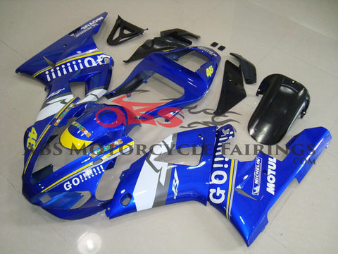 Yamaha YZF-R1 (2000-2001) Blue & White #46 Fairings
