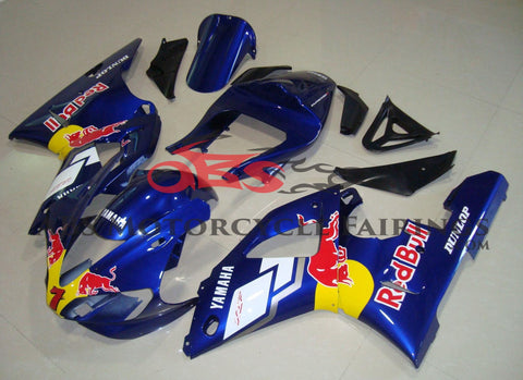 Red Bull Blue 2000-2001 Yamaha YZF-R1