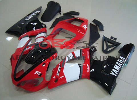 Deltabox Exup Red & Black 2000-2001 Yamaha YZF-R1