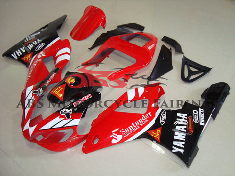 Santander Red & Black 2000-2001 Yamaha YZF-R1