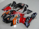 Orange, Red and Black Repsol Fairing Kit for a 2000 & 2001 Yamaha YZF-R1 motorcycle