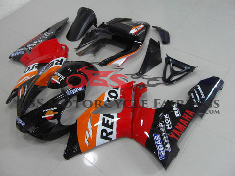 Repsol Black & Red 2000-2001 Yamaha YZF-R1