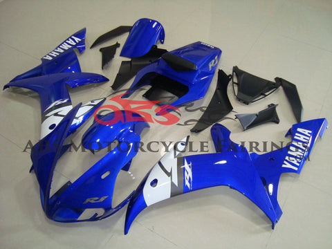 Blue & Black 2002-2003 Yamaha YZF-R1