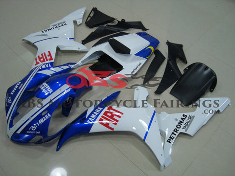 Yamaha YZF-R1 (2002-2003) Blue, White & Red FIAT Fairings
