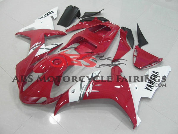 Red & White 2002-2003 Yamaha YZF-R1