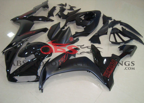 Gloss & Matte Black with Red Decals 2004-2006 Yamaha YZF-R1
