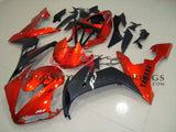 Yamaha YZF-R1 (2004-2006) Orange & Matte Black Fairings