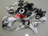 Yamaha YZF-R1 (2007-2008) White, Black & Gold Lucky Strike Fairings