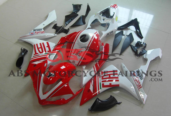Fiat Wudy Red & White 2007-2008 Yamaha YZF-R1