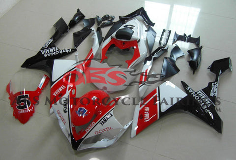 Petronas 5 Red White & Black 2007-2008 Yamaha YZF-R1