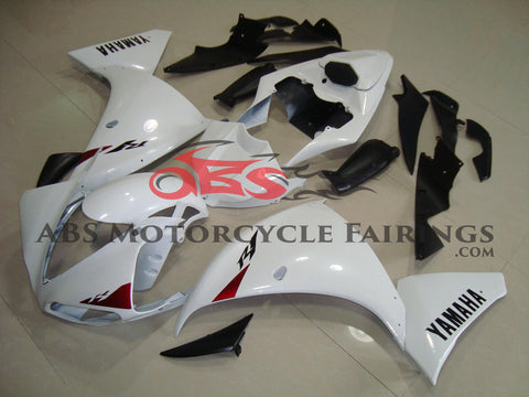 Yamaha YZF-R1 (2012-2014) White & Red Fairings