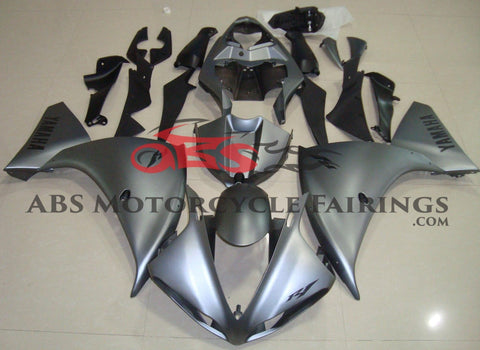 Yamaha YZF-R1 (2012-2014) Matte Gray & Black Fairings