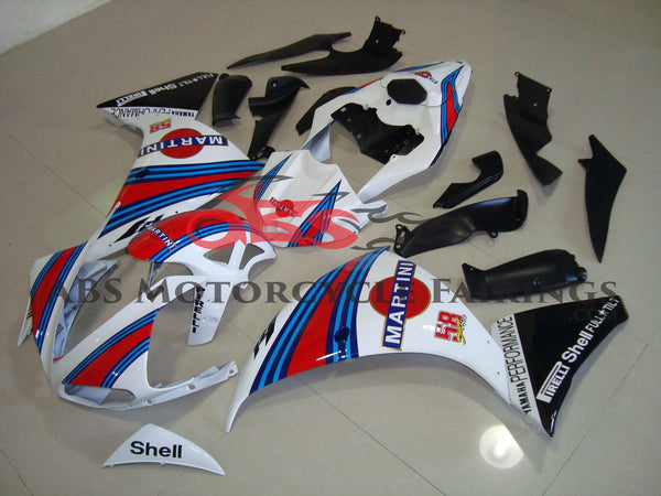 Martini 58 White Stripe 2009-2011 Yamaha YZF-R1