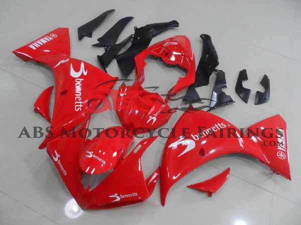 Yamaha YZF-R1 (2009-2011) Red Bennetts Fairings