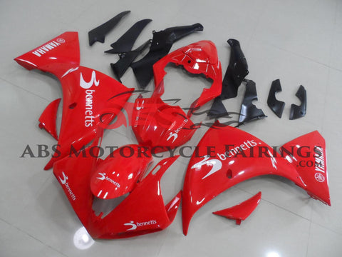 Yamaha YZF-R1 (2012-2014) Red Bennetts Fairings